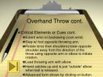 overhand throw cont10