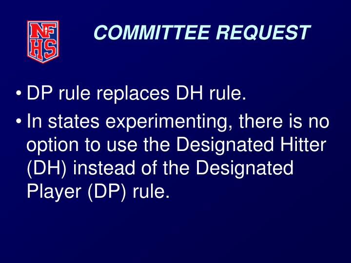 Committee request3