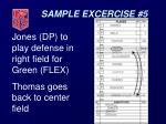 sample excercise 533