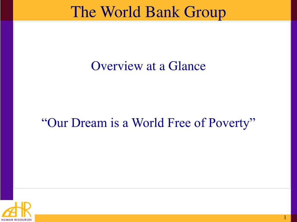 the world bank group l.