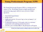 young professionals program ypp