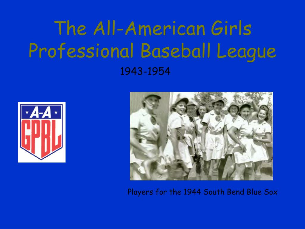 the all american girls professional baseball league l.