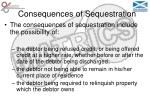 consequences of sequestration