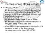 consequences of sequestration25