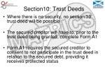 section10 trust deeds40