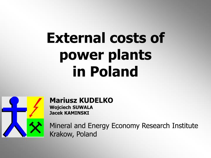 external costs of power plants in poland n.