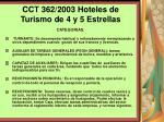 cct 362 2003 hoteles de turismo de 4 y 5 estrellas116
