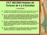 cct 362 2003 hoteles de turismo de 4 y 5 estrellas124
