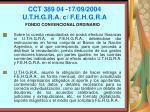 cct 389 04 17 09 2004 u t h g r a c f e h g r a104
