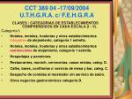 cct 389 04 17 09 2004 u t h g r a c f e h g r a70