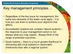 key management principles