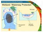 wetland waterway protection