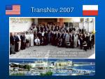 transnav 2007