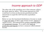 income approach to gdp