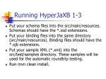 running hyperjaxb 1 3