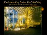 fuel handling inside fuel building dust collection systems control emissions