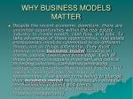 why business models matter6