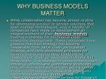why business models matter7