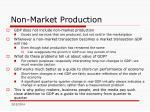 non market production