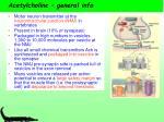 acetylcholine general info