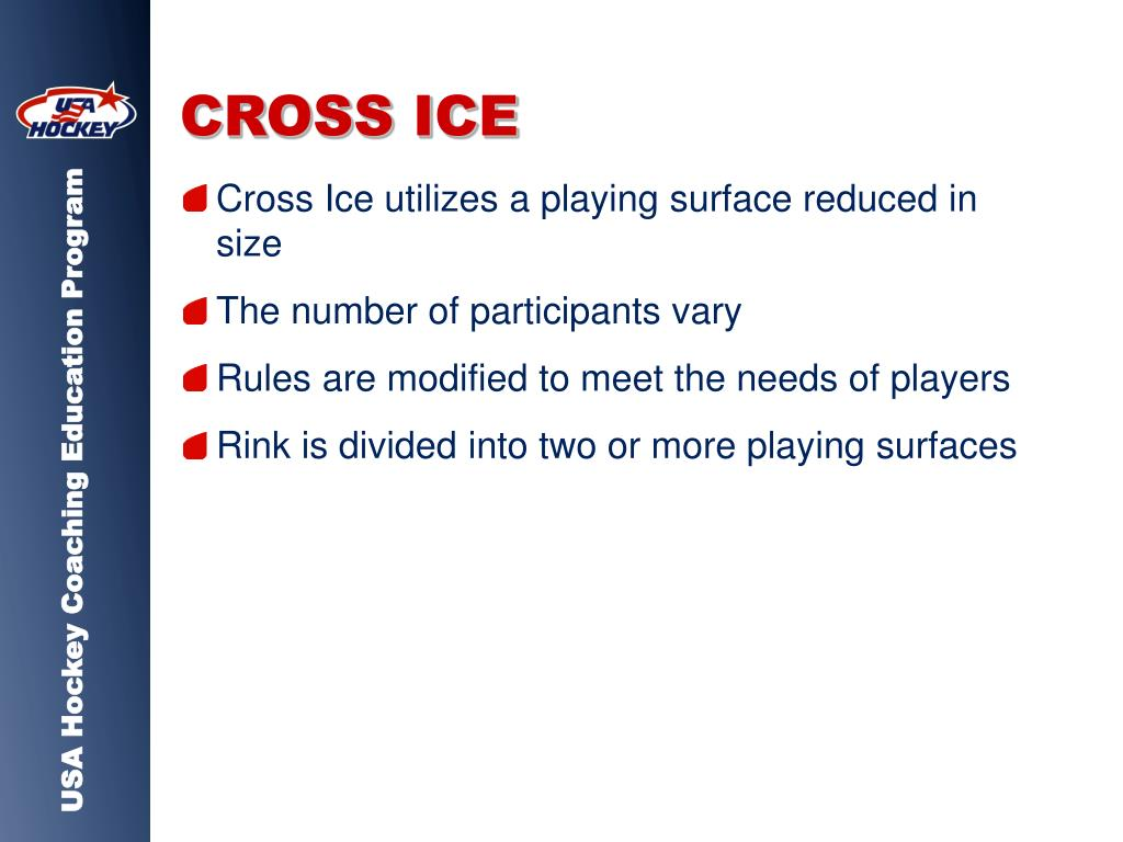 CROSS ICE