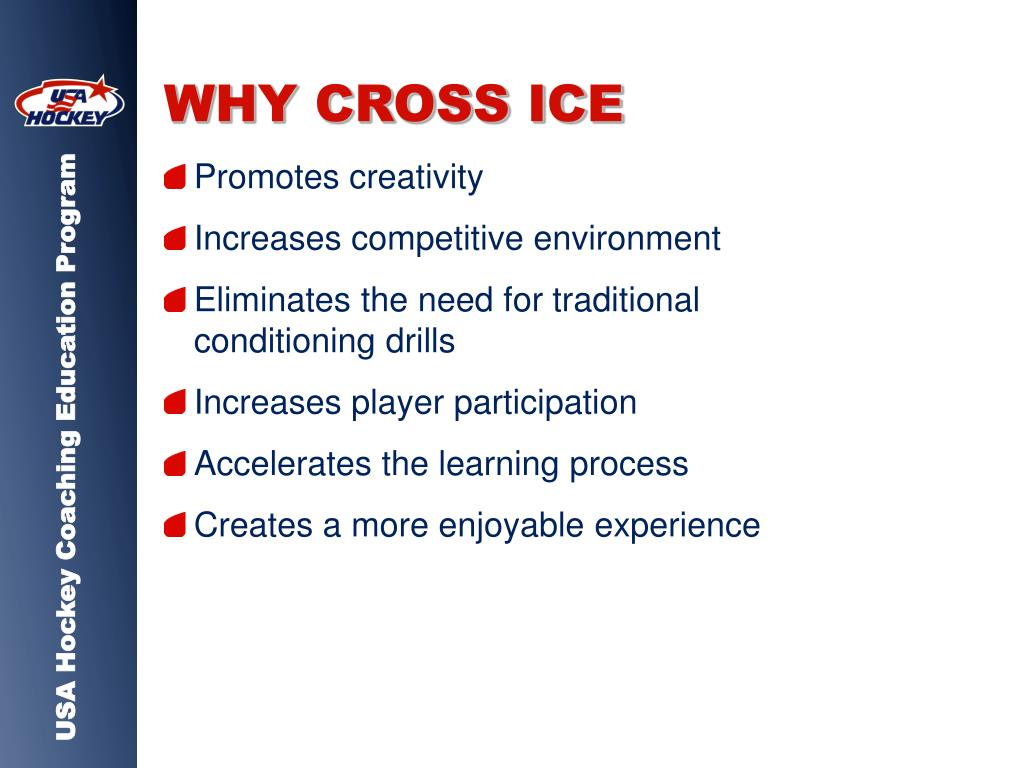 WHY CROSS ICE