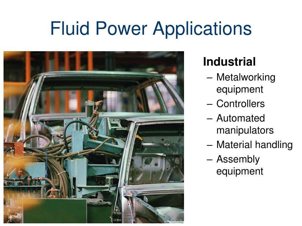 Fluid Power Applications