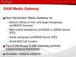g450 media gateway