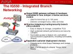 the ig550 integrated branch networking