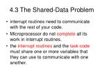 4 3 the shared data problem