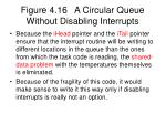 figure 4 16 a circular queue without disabling interrupts