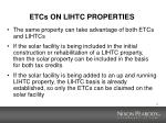 etcs on lihtc properties
