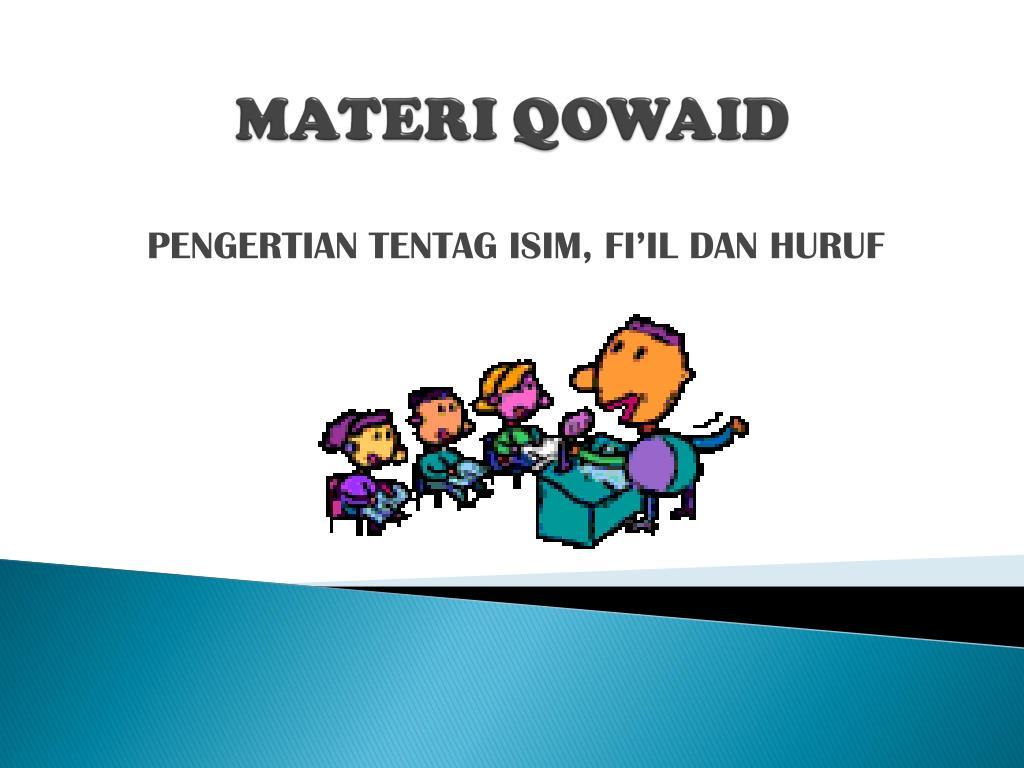 materi qowaid l.