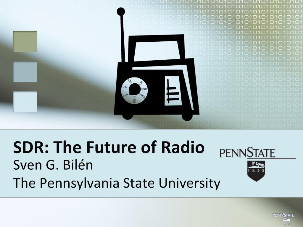 sdr the future of radio l.