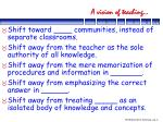 a vision of teaching