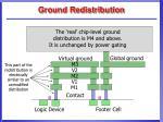 ground redistribution