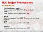njc subject pre requisites26