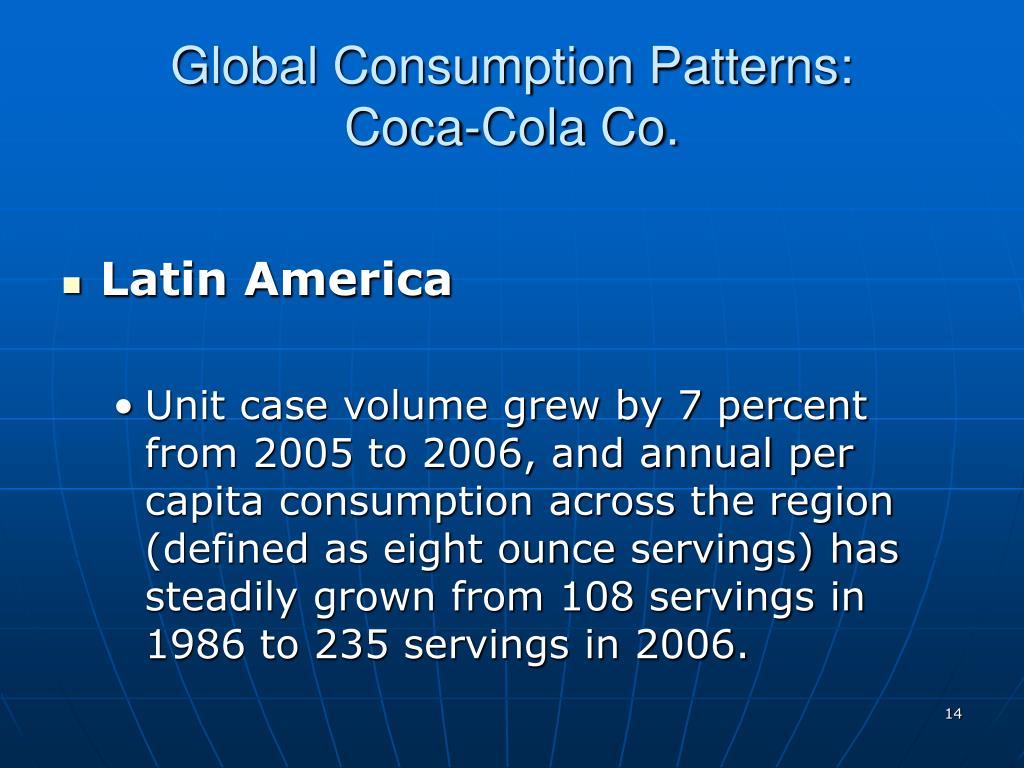 Global Consumption Patterns:
