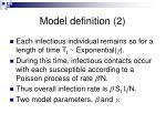 model definition 2