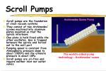 scroll pumps