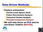 data driven methods13
