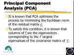 principal component analysis pca19