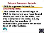 principal component analysis15