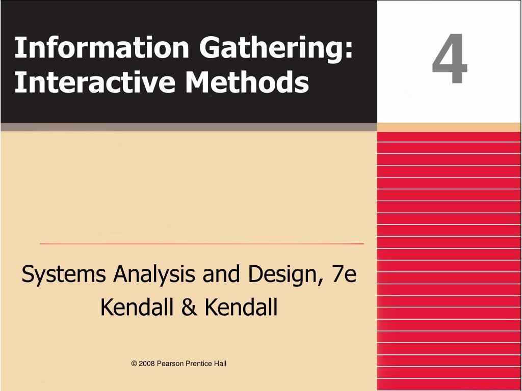 information gathering interactive methods l.