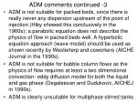 adm comments continued 3