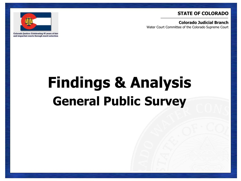 Findings & Analysis