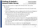 findings analysis general public survey36