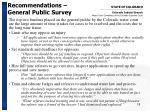 recommendations general public survey18