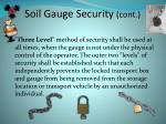 soil gauge security cont
