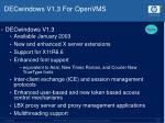 decwindows v1 3 for openvms